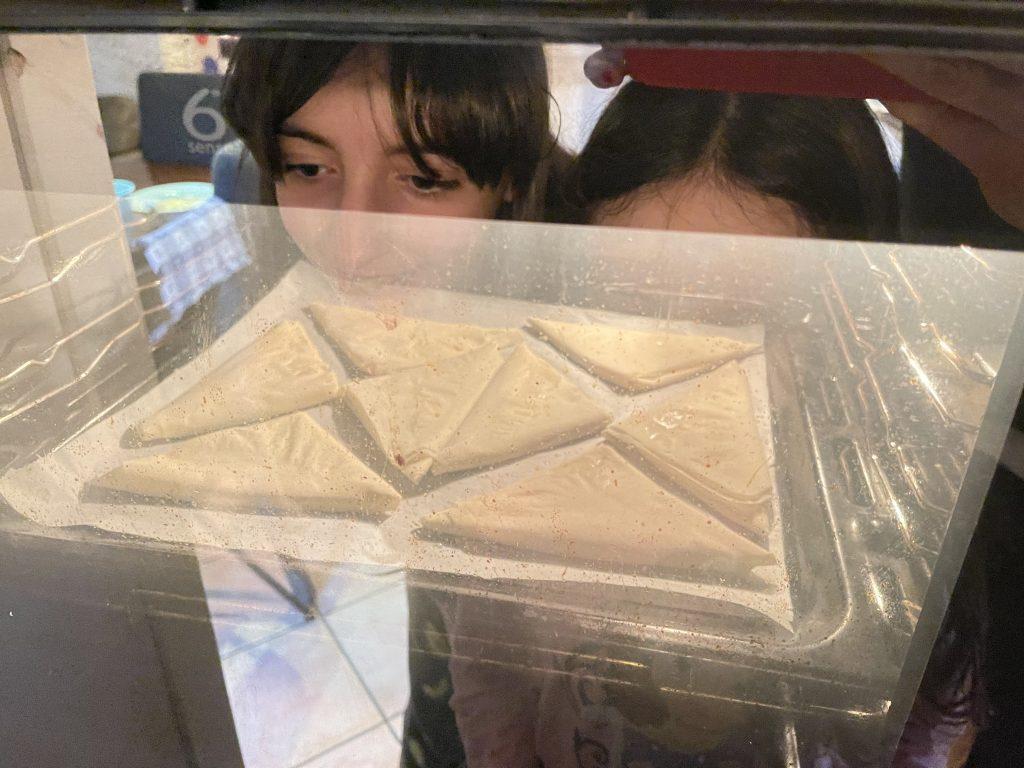 Ricetta triangoli pasta fillo nutella