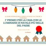 Premio per la casa con le luminarie di Natale più belle