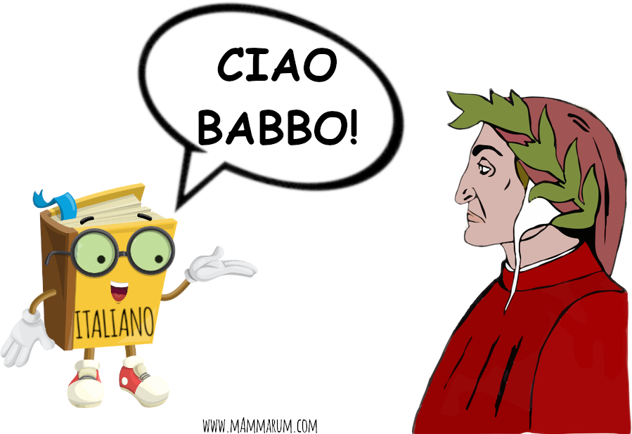 DANTE PADRE ITALIANO bambini