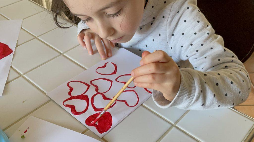 Lavoretto di San Valentino per bambini6