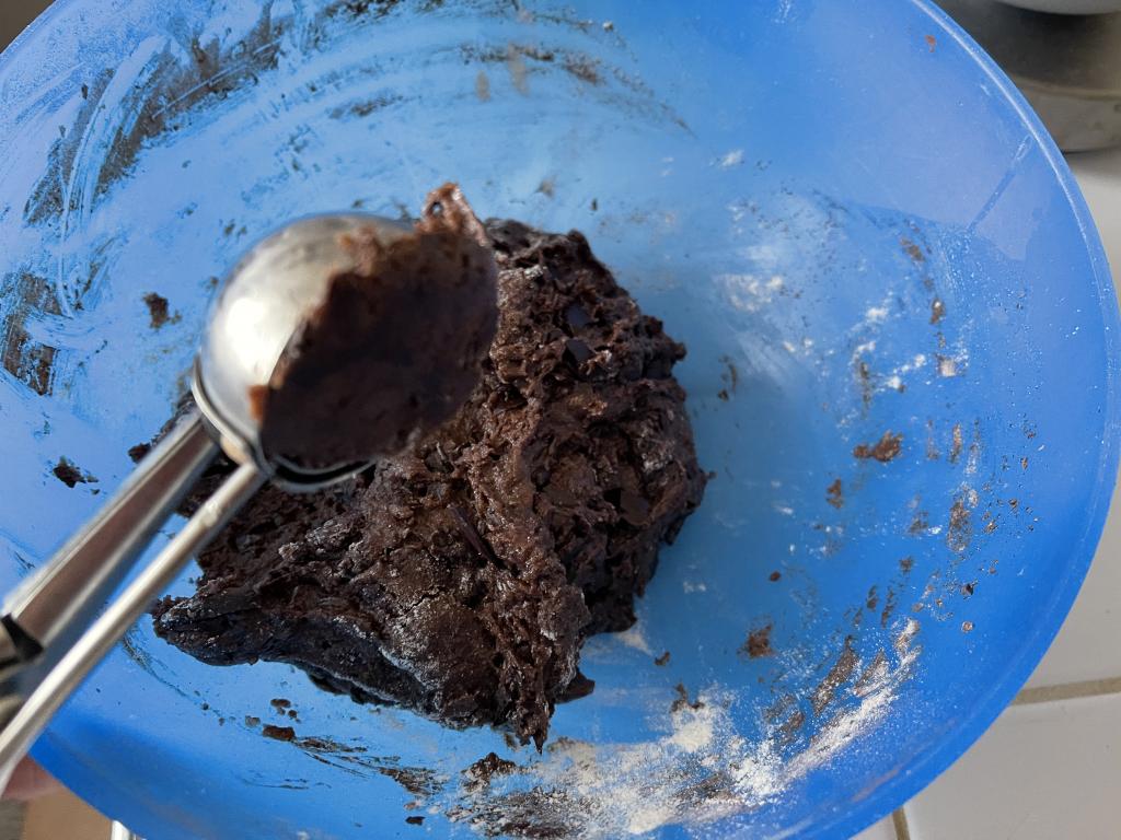 Biscotti al cioccolato fondente senza burro11