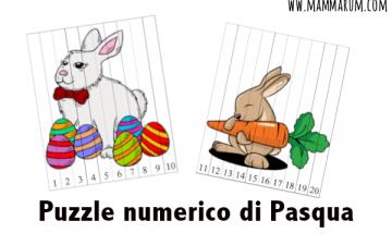 Puzzle di PasquaMontessorida stampare