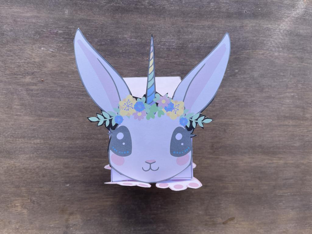 Scatolina di Pasqua da stampare e ritagliare