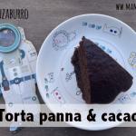 Torta cacao e panna facile e veloce senza burro