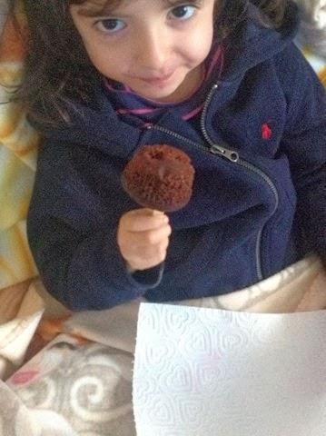 Muffin al cioccolato senza burro per bambin