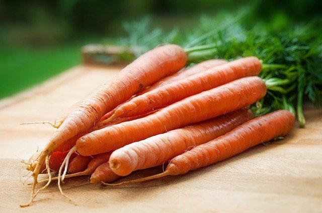 Torta di carote per bambini