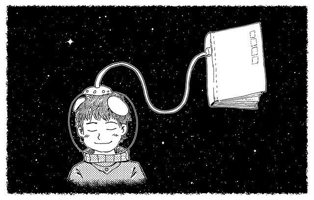libri per bambini spazio