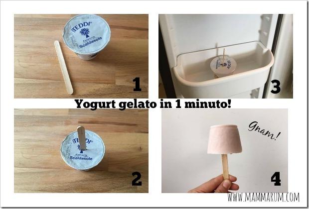 ricetta yogurt gelato bambini