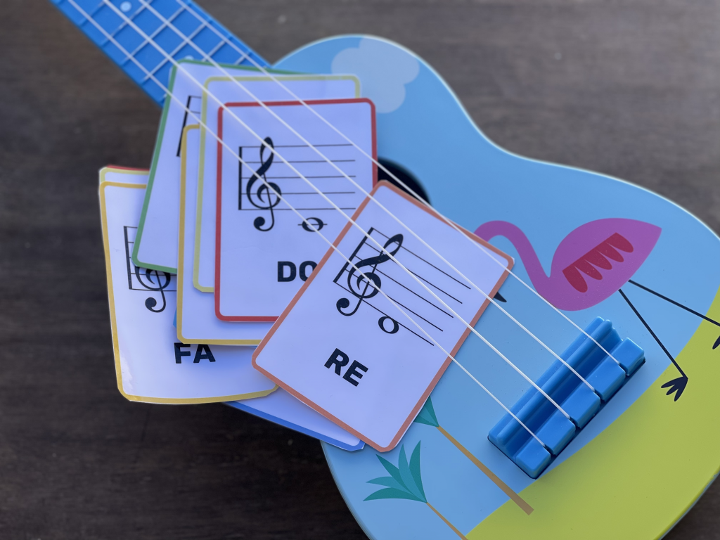 FLASHCARD note musicali