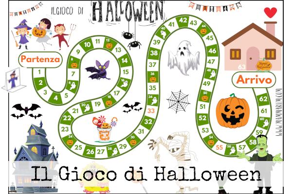 gioco da tavola di Halloween gratis