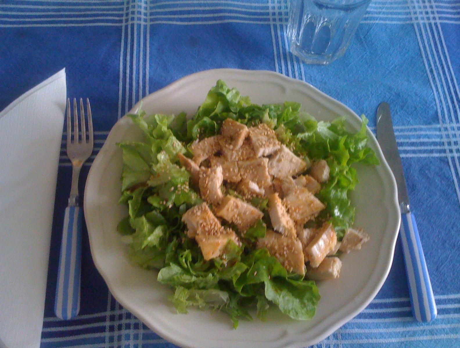 Petto di pollo con salsa di soia