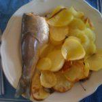 Branzino al forno con patate per la zia Giulia
