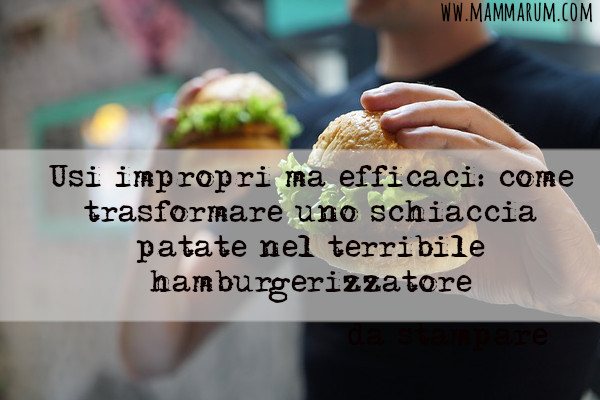 come fare hamburger a casa