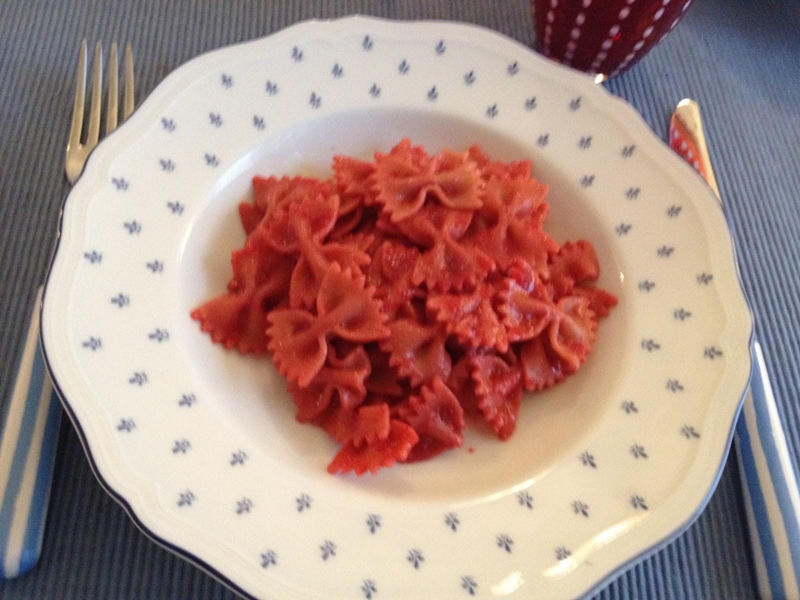 Pasta rosa per la nostra festa della donna