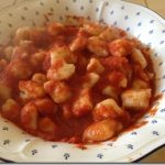 Un pasto completo: gnocchi di patate e cannellini