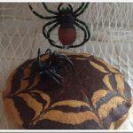 Torta ragnatela cocco e cacao non solo per Halloween