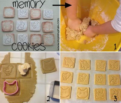 Biscotti divertenti per bambini: giochiamo a memory!