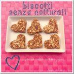 Biscotti senza cottura per bambini che non vogliono fare colazione