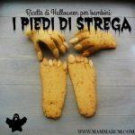 Biscotti per Halloween: i piedi di strega