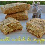 Biscotti morbidi da inzuppare senza burro e uova (…vegan!)