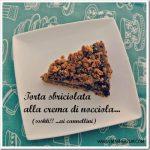 Ricette per bambini: torta sbriciolata alla crema di nocciole
