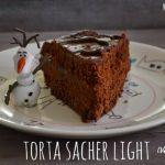 Torta sacher vegan e light