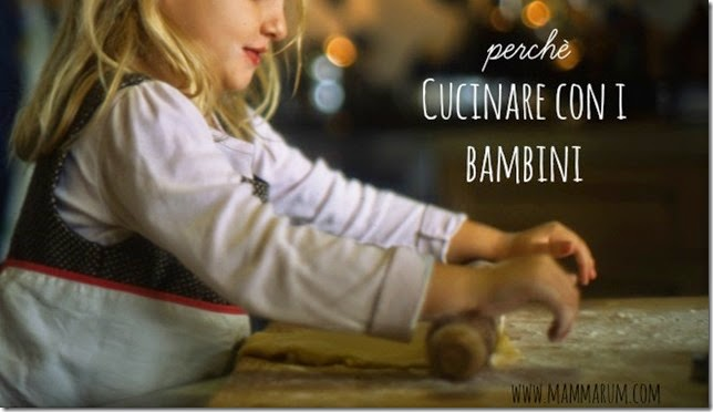 perchè cucinare con i bambini consigli