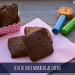 Biscotti morbidi al cacao vegan