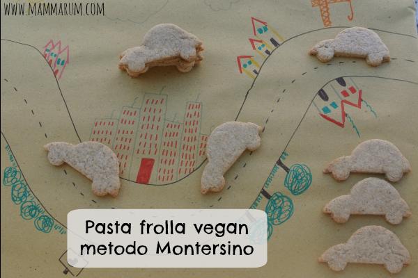 Pasta frolla vegana metodo Montersino, senza uova né burro