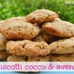 Biscotti fiocchi d'avena e cocco