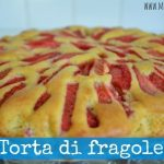 Torta di fragole (light, senza burro)