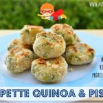 Polpette di quinoa e piselli