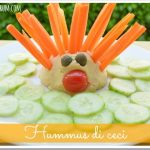Hummus di ceci per bambini