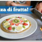 Pizza dolce di frutta