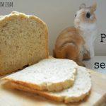 Pane al sesamo nella macchina del pane