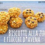 Biscotti alla zucca e fiocchi d'avena