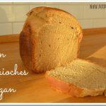 Pan brioches vegan nella macchina del pane