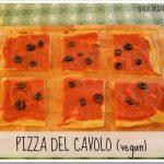 Pizza del cavolo vegana