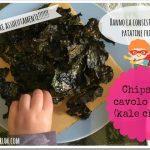 Chips di cavolo nero al forno (kale chips)
