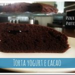 Torta light al cacao e yogurt senza burro