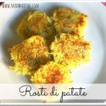 Ricetta rostì di patate