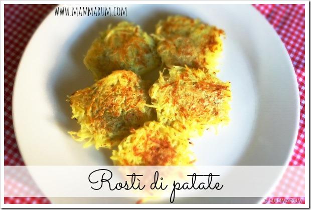 ricetta rostì patate vegan