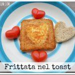 Frittata nel toast (ricetta veloce per chi si ama)