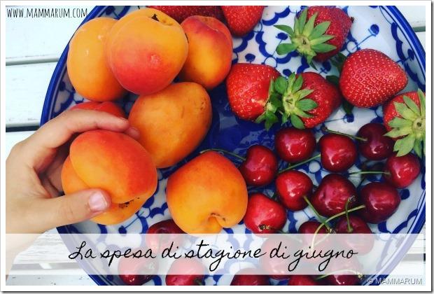 spesa frutta verdura giugno