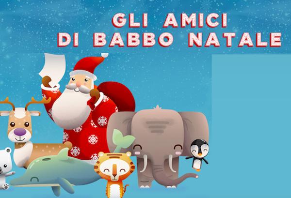 La lettera a Babbo Natale di Poste Italiane edizione 2018