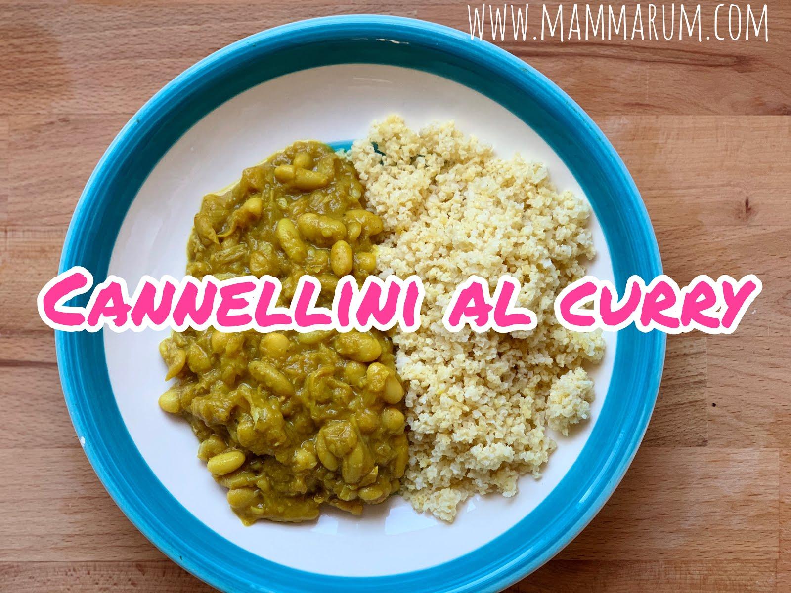 Fagioli al curry