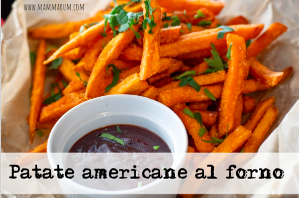 Patate americane al forno e differenze