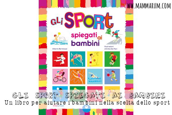 Un libro per aiutare i bambini nella scelta dello sport