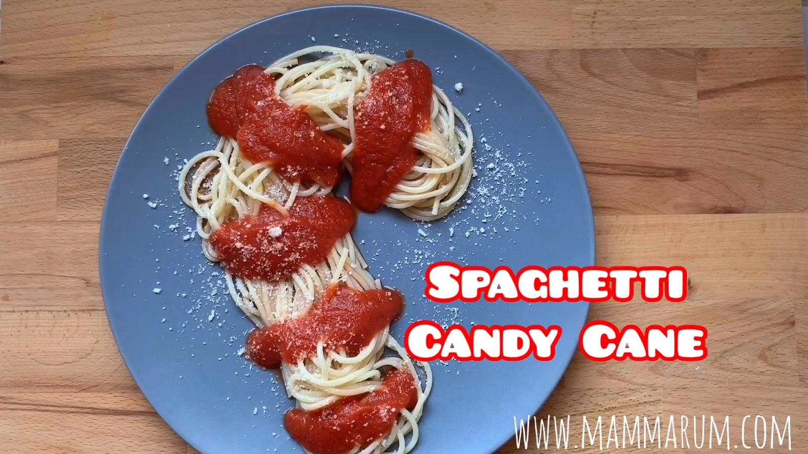 Avvento Giorno 2: Spaghetti Candy Cane