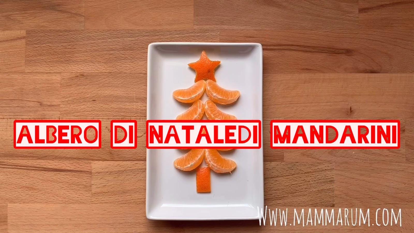 Avvento Giorno 3: Albero di Natale di mandarini